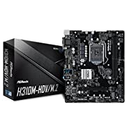 ASROCK Intel H310Chip Set Micro ATX Motherboard h310m–HDV/M. 2
