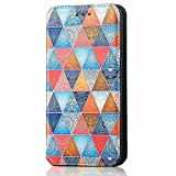 Liner Funda para Xiaomi Poco F3/Xiaomi Mi 11i 5G Billetera, Diseño de Patrón de Colores Elegante, Suave PU Cuero Flip Carcasa Case Cover con Soporte/Tapa Tarjetas/Magnética - Mandala de Colores