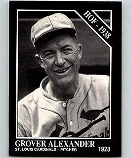 1991 Conlon Collection #32 Grover Cleveland Alexander HOF NM Baseball MLB Cardinals