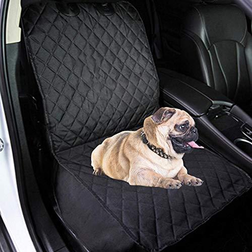 Porta Perros para Coche Negro Proteccion de Perros para Perros con Ventana...