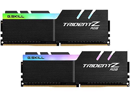 G.SKILL 16GB (2 x 8GB) TridentZ RGB Series DDR4 PC4-32000 4000MHz Desktop Memory Model F4-4000C17D-16GTZR