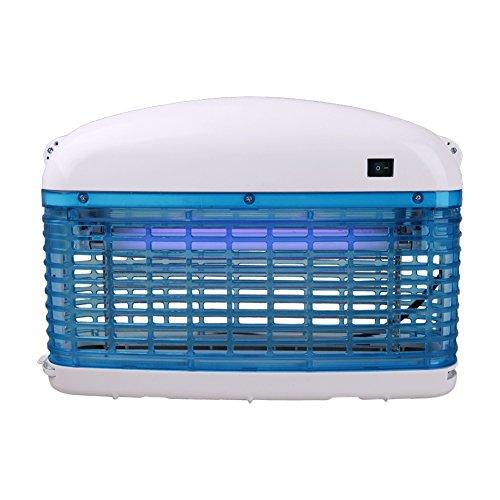 Elektronischer Insektenvernichter Insektenschutz Insektenfalle Mückenvernichter energiesparend durch 16 Watt (2x 8 W) UV Leuchtröhre