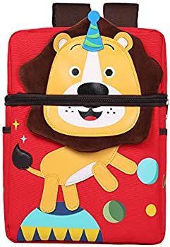 D.SLOATE Toddler Backpack with Leash and Chest Strap School Bookbag