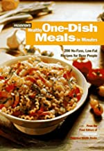 Prevention's Healthy One-Dish Meals in Minutes: 200 No-Fuss, Low-Fat Recipes for Busy People