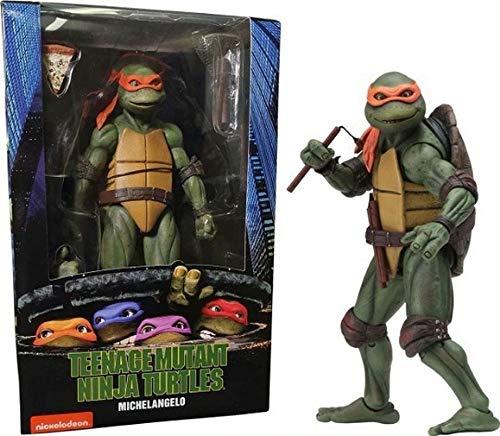 XINHE Figura De Acción Michelangelo Tortugas Ninja Película De La Serie De PVC Figma
