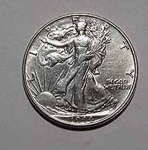1940-1945 U.S. Walking Liberty Silver Half Dollar Coin Half Dollar About Uncirculated Condition