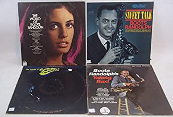 Boots Randolph Lot of 4 Vinyl Record Albums Sweet Talk and more