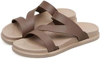 XL_nsxiezi Zapatillas de Plataforma para Mujer, Sandalias Planas de Playa y Zapatillas.