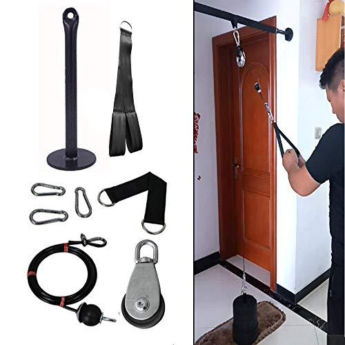 N/b Sistema De Cable De Polea De Fitness Pin De Carga DIY Tríceps De Elevación Máquina De Cuerda Entrenamiento Longitud Ajustable Gimnasio En Casa Accesorios Deportivos