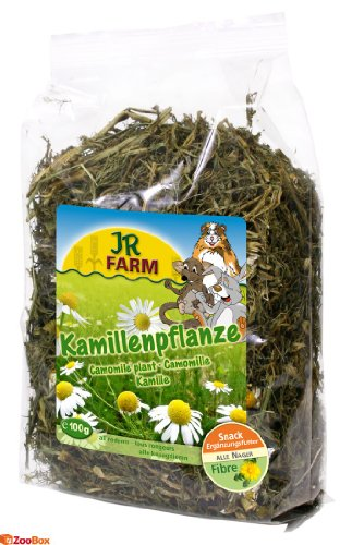 JR-Farm Kamillenpflanze Größe 1 x 100g