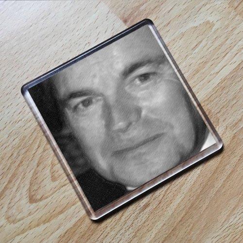 ROBERT WAGNER - Original Art Coaster #js001