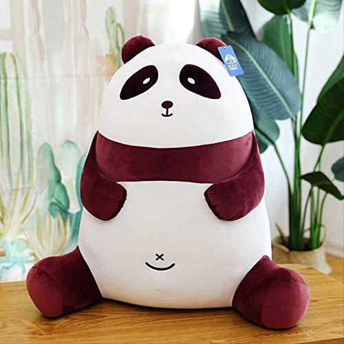 DOUFUZZ SNHPP Nuevo Panda Muñeca Canta Panda Sosteniendo Almohada Regalo del Día de San Valentín 25cm Púrpura