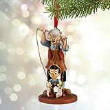 ディズニー ピノキオとゲペット スケッチブックオーナメント - You got ta Pull String - 2015