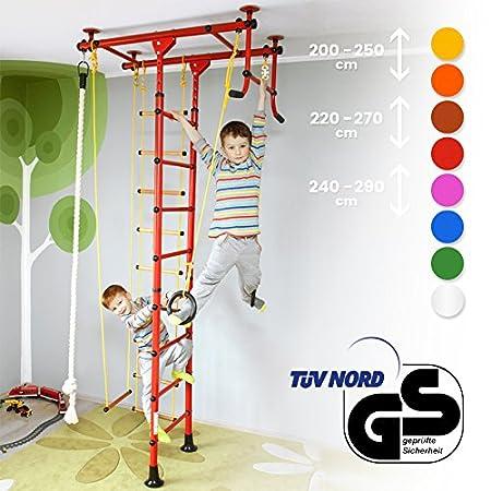 NiroSport FitTop M1 Indoor-Klettergerüst für Kinder