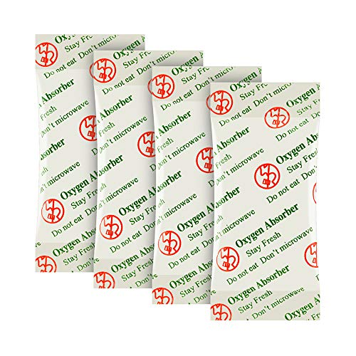 1500CC(30-Pack) Food Grade Oxygen Absorbers Packets for Home Made Jerky and Long Term Food Storage