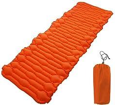 ExH Opblaasbare Camping Mat, Slaapmat Waterdicht Camping matras Ultralight Opvouwbare Massage Slapen Pad voor Outdoor Camp...