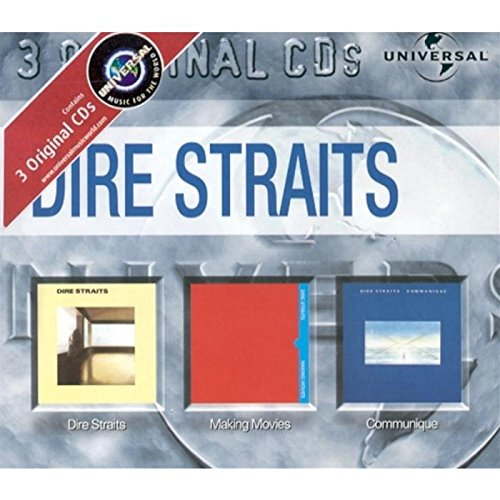 Dire Straits/Making Movies/Communique [3-CD-Box]