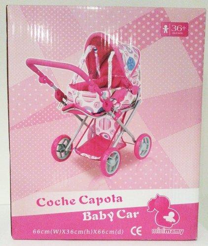 Kinderwagen mit Liegekorb