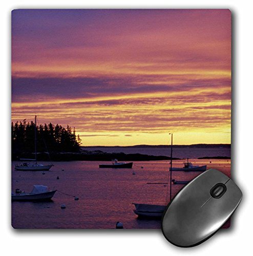 3dRose LLC 8 x 8 x 0.25 Inches Southport Island Boothbay Harbor Maine Jerry and Marcy Monkman Mouse Pad (mp_90675_1)