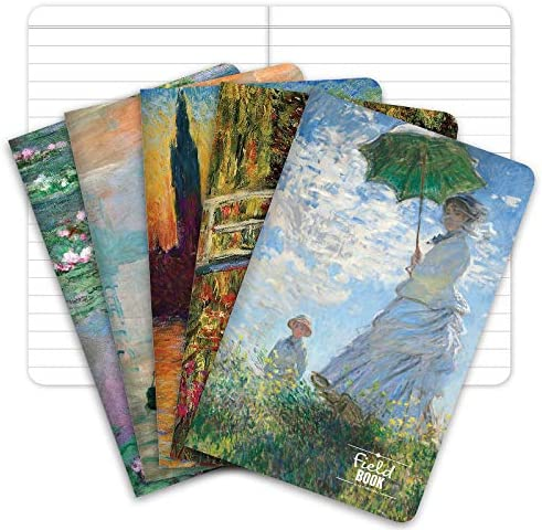 Field Notebook 3 5 x5 5 Monet Patterns Lined Memo Book Pack of 5 product image