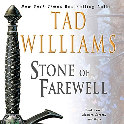The Stone of Farewell audiobook cover art