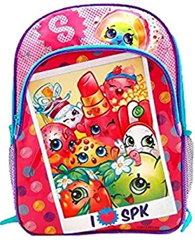Shopkins 16 Large School Backpack with Pockets : Polaroid Picture
