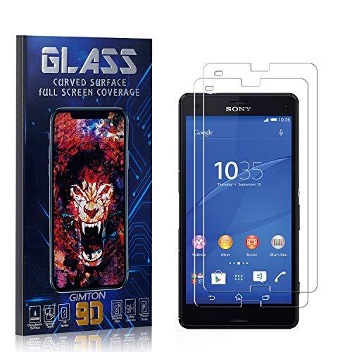 GIMTON Displayschutzfolie für Sony Xperia Z3 Compact, 3D Touch, Anti Kratzen, Keine Luftblasen Premium Displayschutz Schutzfolie für Sony Xperia Z3 Compact, 2 Stück