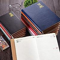 日記2021プランナーを表示する週2021カレンダーの概要ページ1月から12月までの日記デイリープランナーのハードカバー日記に最適な日記-Pink_25K_Bronzing