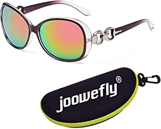 OversizedUV400 Polarised Driving Sun Glasses, Round Pilot Mirror Sunglasses Fishing Outdoor Sport Eyewear Sun Glasses Wom...