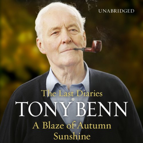 A Blaze of Autumn Sunshine audiobook cover art