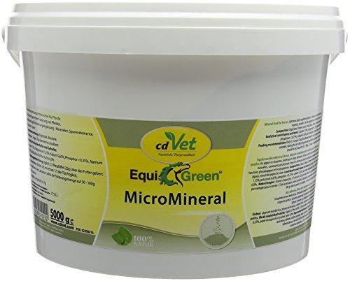 cdVet EquiGreen MicroMineral Futter-Ergänzungsmittel für Pferde 5 kg - 100 % natürliche Mineralstoffversorgung fürs Pferd, 29