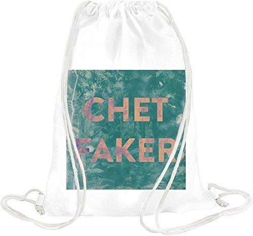 Chet Faker Name Drawstring bag