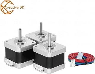 3Pcs 42 Motor Nema 17 Motor 4-Lead Nema17 Stepper Motor 1.5A 38mm (17HS4401) 3D Printer Motor and CNC XYZ (3)