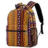 Rucksack mit geometrischem Tribe-Design, Schultasche, Reiserucksack, lässiger Tagesrucksack für Frauen, Teenager, Mädchen, Jungen