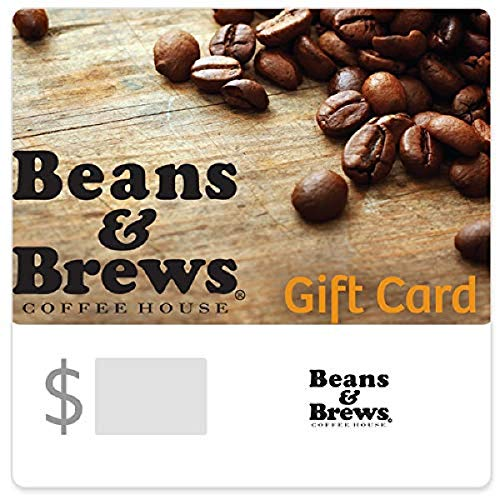 Beans & Brews Coffee House Gift Cards Configuration Asin - E-mail Delivery