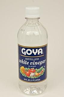 Goya White Vinegar - Distilled, 16 Ounce