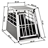 TecTake Alu Hundetransportbox -diverse Größen- (Single Groß) - 6