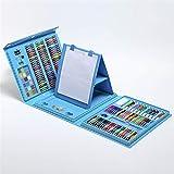 Ensemble De Peinture Au Stylo Aquarelle, Fournitures d'art pour Outil De Peinture Au Crayon pour Enfants,Blue