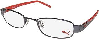 Puma 15340 الرجال/النساء مقاس مناسب مصمم للشباب والنساء ومثالي للنظارات الرياضية/إطار النظارات