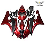 NT FAIRING Red Black Injection Mold Fairing Fit for Yamaha 2006 2007 YZF R6 New Painted Kit ABS Plastic Motorcycle Bodywork Aftermarket