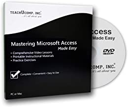 Mastering Access Made Easy Training Tutorial v. 2010 through 97 –How to use Microsoft Access video e Book Manual Guide. Even dummies can learn step by step from this total DVD for MS Access, featuring Introductory through Advanced material from Professor Joe photo