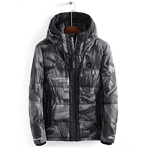 LSJSN Mannen jassen Streetwear Camouflage Winter Jas Mannen Hooded Casual Mens Parka Jas Camo Dikke Warme Mens Outwear