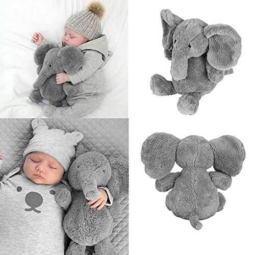 Stuffed Animals 1pc Cute Pillow Elephant Kids Soft Stuff Plush Toy Doll Long Nose Lumbar Cushion Sister Little Plush Elephant Toy