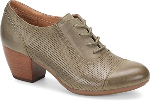 Comfortiva Women's Angelique Olive Leatheroxfords-Shoes 7.5 C/D US