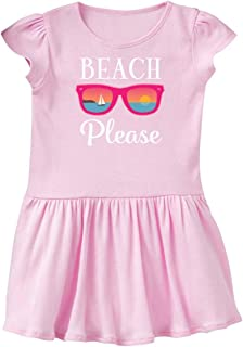 inktastic Beach Please Sunglasses Gift Infant Dress