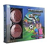 Okuyonic Rugby/Soccer/Basketball Jeu de Lancer léger et intéressant, Durable pour Jouer dans la Cour arrière en Jouant à Une réunion de Famille pour(Basketball 222-2A)