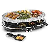 Klarstein All-U-Can Grill 4-in-1 (1500 Watt, pentolini e piastre antiaderenti,...
