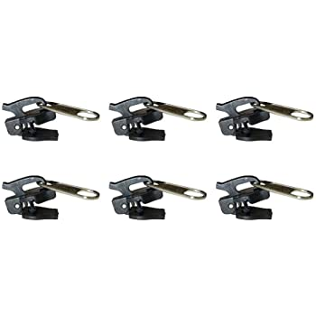 Sunlera 6pcs Universale Instant Fix Kit Zipper di Riparazione di Vestiti Zaino Sostituzione Zip Cerniere Slider Denti