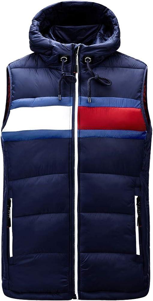 Amazon Men's Lightweight Water-Resistant Packable Vest