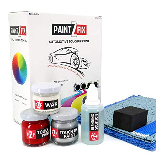 Price comparison product image PAINT2FIX Vermilion P Touch Up Paint Compatible with Dodge Dart for Paint Scratch and Chips Repair - Color Match Guarantee - Gold Pack